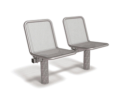 Allegro wire mesh seating