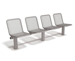 Allegro modular seating system