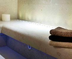 Bisazza tiles in luxury steam room - Dröm UK