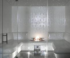 Okume bespoke steam shower - Dröm UK