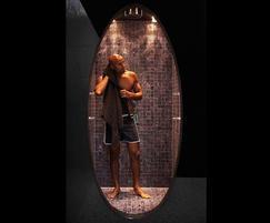 Urban steam shower with privacy glass - Dröm UK
