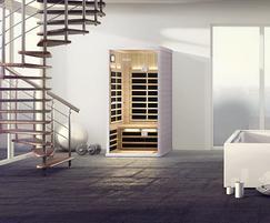 Infra sauna cabin