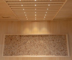 Fibre optic lighting ladder and Juniper Wall panel