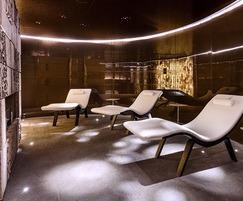 Thermal suite at Cloud Twelve health spa in London