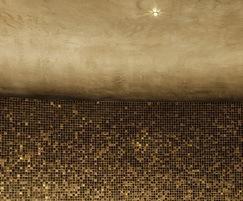 Bronze mosaic custom mix tiles