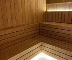 Sauna rooms at The Carlton Tower Hotel, London