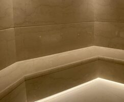 Steam rooms at The Carlton Tower Hotel, London