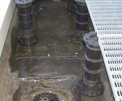 Buzon DPH® screwjack pedestals