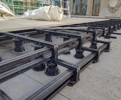 Buzon ALUrail and pedstal system