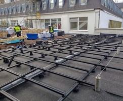 Selfridges' roof terrace - Buzon ALUrail system