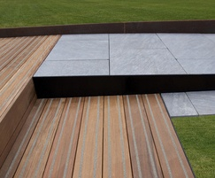 Pedestals, decking and paving for Novotel, Hammersmith
