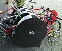 6 bike V-Rack unit