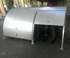 Velo-Store secure cycle parking unit