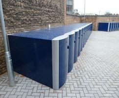 Velo-Safe cycle locker