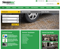 Steintec: New Steintec website with a technical emphasis