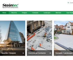 Steintec: Steintec website gets a refresh