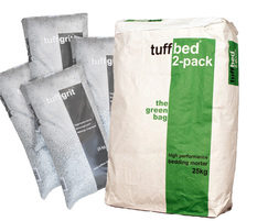tuffbed 2-pack mixed at a 1:4 ratio with tuffgrit