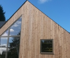 British Western red cedar timber cladding