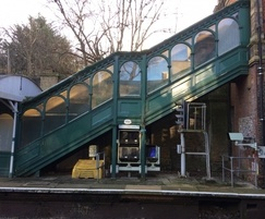 Bespoke timber staircase, Dulwich Station
