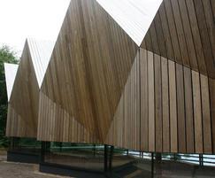 Frake FSC-certified timber cladding