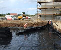 GEOdek™ stormwater attenuation system at Redcar college
