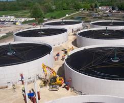 BIOdek™ cross flow media for sewage treatment works