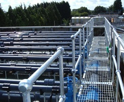 BIOdek cross-fluted fills for wastewater treatment