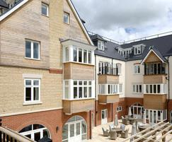 ArborClad timber cladding used at retirement village
