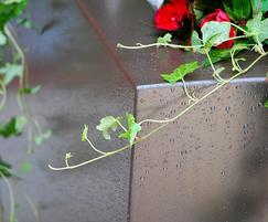 Steel planter – a flawless standard of finish