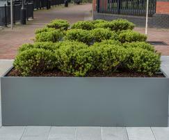 Planters for commercial landscape, Soapworks, Salford