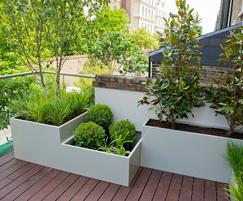Planters For Communal Courtyard Residential Development