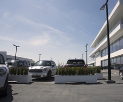 Planters for Cotswold Motor Group car dealership