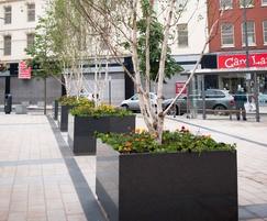 Tree planters L 1600 x W 1600 x H 900mm