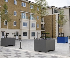 28 large bespoke planters were supplied - Hamilton Quay