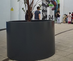 Aluminium tree planter - RAL 7016 [Anthracite grey]