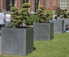 Tree planters for John Madejski Garden, V&A Museum
