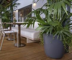 Boulevard KYOTO Fibre Reinforced Cement [FRC] planter