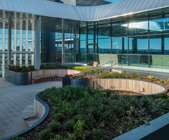 Roof garden - BBC Wales, Cardiff