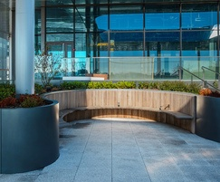 IOTA created the roof garden for BBC Wales, Cardiff