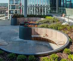Roof garden commissioned from IOTA for BBC Wales