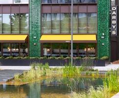Darcy's restaurant, Embassy Gardens, London SW8