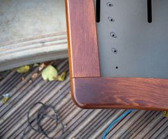 Minimum 10-year colour-fast life for stained timber