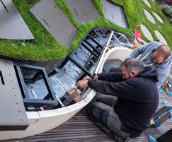 Complex installation: on-site assembly + modifications