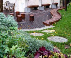 Courtyard garden redevelopment, Francis Holland School