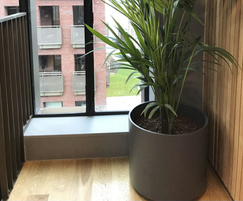 Boulevard Delta 45 planters can be used internally