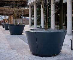 A total of 12 planters were provided for the project