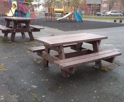 Junior picnic tables - Eastbourne Council