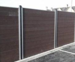 Govawall® - recycled plastic solid T&G boards and posts