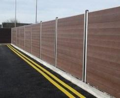 Govawall® - recycled plastic fence system