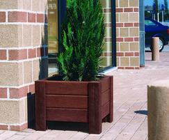 Milano planter - Brown